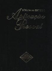 BÍBLIA DE ESTUDO APLICAÇÃO PESSOAL - LUXO GRANDE - PRETA