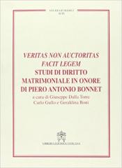 VERITAS NON AUCTORITAS FACIT LEGEM - STUDI DI DIRITTO MATRIMONIALE