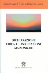DICHIARAZIONE CIRCA LE ASSOCIAZIONI MASSONICHE