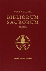 BIBLIORUM SACRORUM NOVA VULGATA EDITIO MAIOR