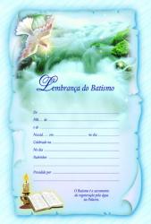 LEMBRANÇA DO BATISMO - SACRAMENTOS 47
