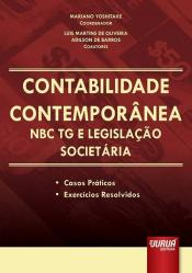 CONTABILIDADE CONTEMPORANEA NBC TG E LEGISLACAO SOCIETARIA - CASOS PRATICOS - 1