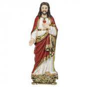 IMAGEM SAGRADO CORAÇÃO DE JESUS 40CM DE ALTURA BARROCO