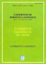 DIREITO CANONICO EM CARTAS, O - O DIREITO CANONICO