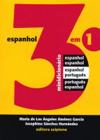 MINIDICIONÁRIO 3 EM 1 - ESPANHOL