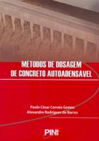 METODOS DE DOSAGEM DE CONCRETO AUTOADENSAVEL