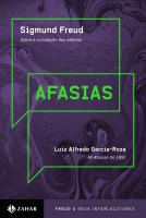 """AFASIAS - """"SOBRE A CONCEPÇÃO DAS AFASIAS"""", FREUD / """"SOBRE AS AFASIAS (1891)"""", L.A. GARCIA-ROZA"""