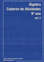 ALGEBRA - 9 ANO -  VOL. 2 - 5