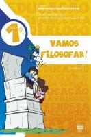 VAMOS FILOSOFAR - 1º ANO