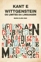 KANT E WITTGENSTEIN - OS LIMITES DA LINGUAGE