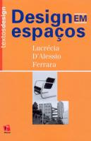 DESIGN EM ESPACOS - COL. TEXTOS DESIGN - 1