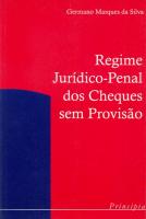 REGIME JURIDICO PENAL DOS CHEQUE SEM PROVISAO