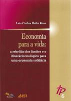 ECONOMIA PARA A VIDA - TEOLOGIA PÚBLICA 6