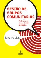 GESTÃO DE GRUPOS COMUNITÁRIOS