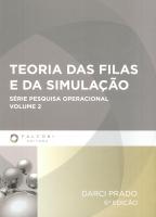 TEORIA DAS FILAS E DA SIMULAÇÃO - VOLUME 2