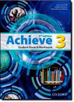 ACHIEVE 3 SB & WB - 2ND ED