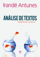 ANALISE DE TEXTOS - FUNDAMENTOS E PRATICAS