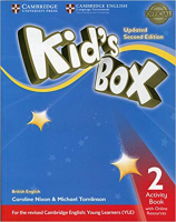 KIDS BOX 2 AB WITH ONLINE RESOURCES - BRITISH - UPDATED 2ND ED