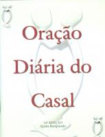 ORACAO DIARIA DO CASAL - 13ª