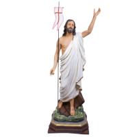 IMAGEM CRISTO RESSUSCITADO DE MESA 110CM DE ALTURA