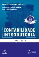 CONTABILIDADE INTRODUTÓRIA - LIVRO TEXTO