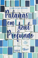 PALAVRAS EM AZUL PROFUNDO