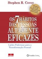 OS 7 HÁBITOS DAS PESSOAS ALTAMENTE EFICAZES (MINIEDIÇÃO)