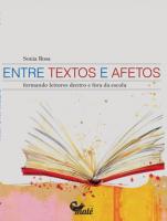 ENTRE TEXTOS E AFETOS