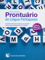 PRONTO A ESCREVER - PRONTUARIO DA LINGUA PORTUGUESA