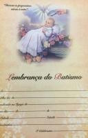 LEMBRANÇA  BATISMO CRIANÇA ESPIRITO SANTO - PACOTE COM 100 UNIDADES