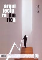 ARQUITECTURA IBERICA 08 - CULTURA