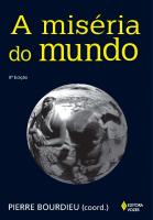 MISÉRIA DO MUNDO