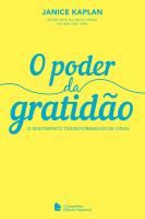 O PODER DA GRATIDÃO - O SENTIMENTO TRANSFORMADOR DE VIDAS