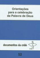 ORIENTACOES PARA A CELEBRACAO DA PALAVRA DE DEUS