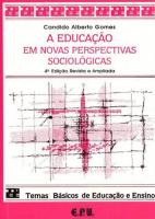 A EDUCAÇÃO EM NOVAS PERSPECTIVAS SOCIOLÓGICAS