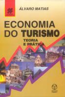 ECONOMIA DO TURISMO - TEORIA E PRATICA