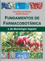FUNDAMENTOS DE FARMACOBOTÂNICA