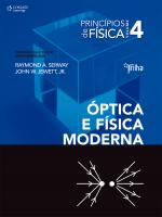 PRINCÍPIOS DE FÍSICA - VOL. IV - ÓPTICA E FÍSICA MODERNA