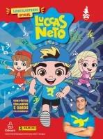 LIVRO ILUSTRADO BROCHURA + 10 ENVELOPES DE CROMOS - LUCCAS NETO
