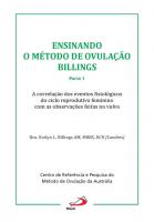 ENSINANDO O MÉTODO DE OVULAÇÃO BILLINGS - PARTE 1