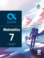 GERAÇÃO ALPHA MATEMATICA 7  ED 2019 - BNCC