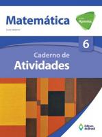 PROJETO APOEMA MATEMÁTICA - CADERNO DE ATIVIDADES - 6º ANO