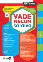 VADE MECUM SARAIVA 2020 - TRADICIONAL - 29ª EDIÇÃO - ATUALIZADO COM O PACOTE ANTICRIME
