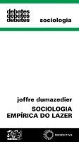 SOCIOLOGIA EMPÍRICA DO LAZER
