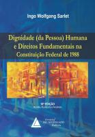 DIGNIDADE (DA PESSOA) HUMANA E DIREITOS FUNDAMENTAIS NA CONSTITUIÇÃO FEDERAL DE 1988