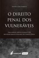 O DIREITO PENAL DOS VULNERÁVEIS - 2016