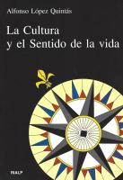 CULTURA Y SENTIDO DE LA VIDA, LA