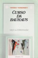 CURSO DA BAUHAUS - 1ª