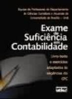 EXAME DE SUFICIENCIA EM CONTABILIDADE : LIVRO-TEXTO E EXERCICIOS ADAPTADOS - 1
