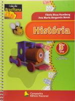HISTORIA - 3 ANO - COL. BRASILIANA - 1